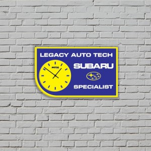 business logo clocks