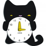 cat clock design for children