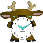 deer clocks for kids