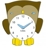 owl clocks for kids