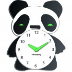 panda clocks for children