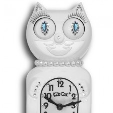 White-Jewel-Lady-Kit-Cat-Clock-close-up1